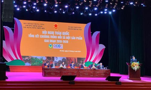 Hội nghị toàn quốc Tổng kết Chương trình OCOP giai đoạn 2018 - 2020